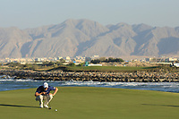 Joachim B Hansen (DEN) during the final round of the Oman Open, Al Mouj Golf, Muscat, Sultanate of Oman. 03/03/2019<br /> Picture: Golffile | Phil Inglis<br /> <br /> <br /> All photo usage must carry mandatory copyright credit (&copy; Golffile | Phil Inglis)