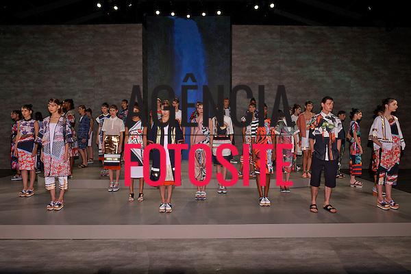 Nova Iorque, EUA 09/2014 - Desfile de Clover Canyon durante a Semana de moda de Nova Iorque  -  Verao 2015. <br /> <br /> Foto: FOTOSITE