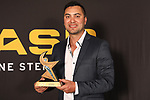 NELSON, NEW ZEALAND - NOVEMBER 21: Sportsman of the Year Shannon Mcllroy ASB Sports Awards 2019 Thursday 21 November 2019 at Victory, New Zealand. (Photo by Evan Barnes/Shuttersport Limited)
