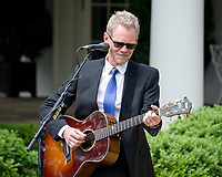 American Christian music singer and songwriter Steven Curtis Chapman performs prior to United States President Donald J. Trump signing a Proclamation designating May 4, 2017 as a National Day of Prayer and an Executive Order &quot;Promoting Free Speech and Religious Liberty&quot; in the Rose Garden of the White House in Washington, DC on Thursday, May 4, 2017.<br /> Credit: Ron Sachs / CNP /MediaPunch