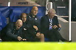 Agony for Walter Smith as goal no 4 goes in for Seville