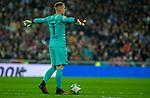 FC Barcelona's goalkeeper Ter Stegen during La Liga match. Mar 01, 2020. (ALTERPHOTOS/Manu R.B.)