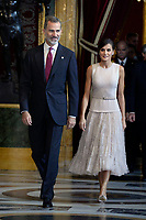 OCT 12 Spanish Royals Attend Reception for National Day