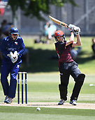 6th December 2017, Eden Park, Auckland, New Zealand; Ford Trophy One Day Cricket, Auckland Aces versus Canterbury Wizards;  Fraser Sheat