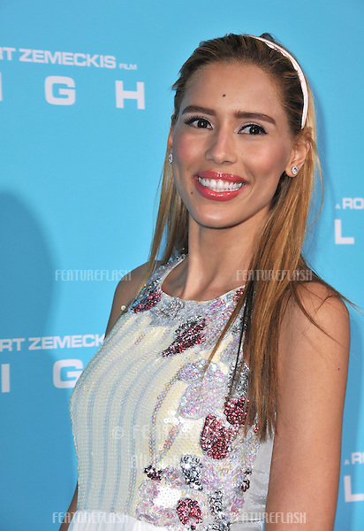 "Rebecca Da Costa at the Los Angeles premiere of ""Flight"" at the Cinerama Dome, Hollywood..October 23, 2012  Los Angeles, CA.Picture: Paul Smith / Featureflash"