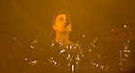 Soundgarden drummer Matt Cameron performs during their set at the 2012 KROQ Weenie Roast y Fiesta at Verizon Wireless Amphitheater in Irvine.