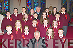 Knockaderry NS Farranfore pupils who made their confirmation in Firies on Monday front row l-r: Shane Kennedy, Aoife Sheehan, Kayleigh Whooley, Cian Callaghan. Second row: Alacoque Daly, Diarmuid Brosnan, Liam Brosnan, Mairead O'Leary. 3rd row: Thomas Murphy, Rachel Coyne, Shane O'Donoghue, Oonagh Kelliher, Patrick Daly. Back row: Ursulla Myers, Niall Donohue, Siu?n Riordan, Fr Noel Spring, James Flynn, Ellen Brosnan and Jack Corkery
