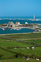 Europe/France/Normandie/Basse-Normandie/50/Manche/Auderville: Cap de la Hague, Port de Goury et le phare de La Hague // Europe/France/Normandie/Basse-Normandie/50/Manche/Auderville: Port Goury and the lighthouse of La Hague