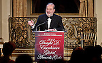 Billionaire Carlos Slim Helú's receives the Dwight D. Eisenhower global leadership award in New York, United States. 12/12/2012. Photo by Kena Betancur/VIEWpress.
