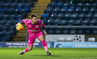 Goalkeeper Matt Ingram of Wycombe Wanderers in action during the Sky Bet League 2 match between Wycombe Wanderers and Crawley Town at Adams Park, High Wycombe, England on 28 December 2015. Photo by Andy Rowland / PRiME Media Images