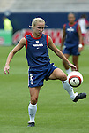 1 August 2004: Lindsay Tarpley. The United States defeated China 3-1 at Rentschler Field in East Hartford, CT in an women's international friendly soccer game..