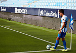 Mohamed Benkhemassa (Malaga CF) shoots a corner kick La Liga Smartbank match round 39 between Malaga CF and RC Deportivo de la Coruna at La Rosaleda Stadium in Malaga, Spain, as the season resumed following a three-month absence due to the novel coronavirus COVID-19 pandemic. Jul 03, 2020. (ALTERPHOTOS/Manu R.B.)