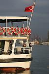 Istanbul, Turkey, Kadıköy, Asian, Anatolian shore, passenger ferries, Bosphorus, Bosporos Strait,
