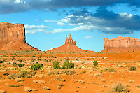 View of Monument Valley from Rte. 163