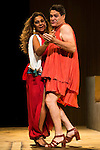 "Lolita and Pedro Mari Sanchez during theater play ""La Asamblea de las Mujeres"" at Teatro La Latina in Madrid. August 23 2016. (ALTERPHOTOS/Borja B.Hojas)"