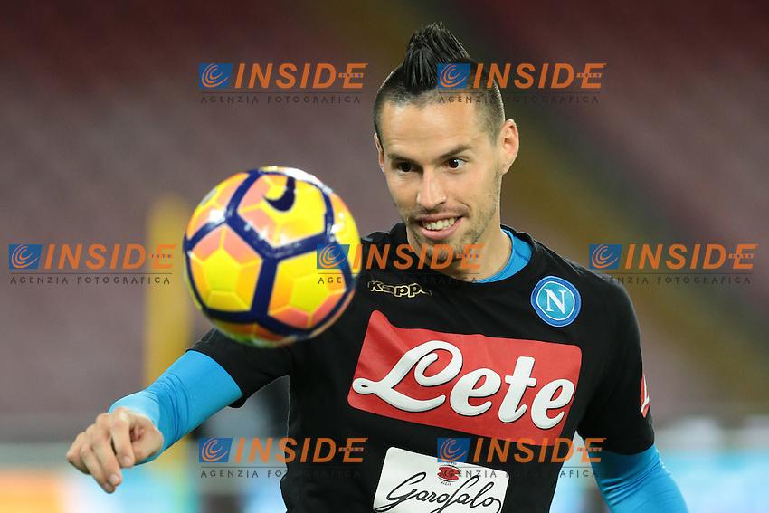 Marek Hamsik Napoli,<br /> Napoli 26-10-2016  Stadio San Paolo <br /> Campionato Serie A Napoli - Empoli<br /> Foto Cesare Purini / Insidefoto