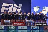Team Italy <br /> Firenze 19-11-2019 Piscina Nannini <br /> water polo Women's World League <br /> Italy ITA - Nederland NED <br /> Photo Andrea Staccioli/Deepbluemedia/Insidefoto