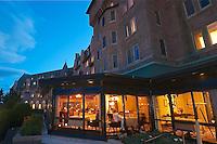 A- Le Charlevoix Restaurant at Fairmont Le Manoir Richelieu, Charlevoix Quebec CA 7 14