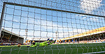 30.03.2019 Motherwell v St Johnstone: Mark Gillespie saves the St Johnstone penalty kick