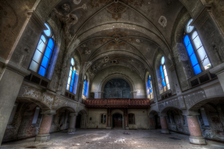 Forgotten church in Germany