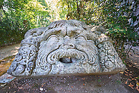 , commissioned by Piaer Francesco Orsini c. 1513-84, The Renaissance Mannerist statues of the Park of Monsters or The Sacred Wood of Bamarzo, Italy