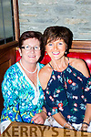Julie Gaffey and Margaret O'Brien at the Shave for Amy in the K-town bar on Friday evening