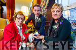 Yolanda Nieman, who donated a broche to the  Anne Frank Trust museum at a talk by Holocaust survivor Eva Schloos,   also in photo is Ryan Tubridy at Ballygarry House Hotel & Spa, Tralee on Tuesday evening last.