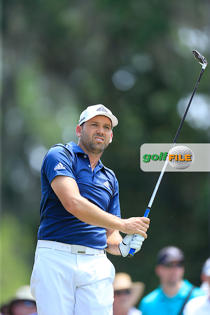Sergio Garcia (ESP) during round 2 of the Players, TPC Sawgrass, Championship Way, Ponte Vedra Beach, FL 32082, USA. 13/05/2016.<br /> Picture: Golffile | Fran Caffrey<br /> <br /> <br /> All photo usage must carry mandatory copyright credit (&copy; Golffile | Fran Caffrey)