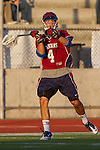 Mission Viejo, CA 05/11/11 - Matt Duenes (St Margaret #4) in action during the St Margaret-Foothill boys varsity lacrosse game at Mission Viejo High School for the 2011 CIF Southern Section South Division Championship.  Foothill defeated St Margaret 15-10.