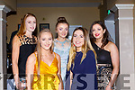Workmens RC rowers  who were honoured at the Kerry Sports awards in the Gleneagle Hotel on Friday night front row l-r: Annie O'Donoghue, Ciara Moynihan, Ciara Brosnan, Miriam Fleming, Siobhan Burns