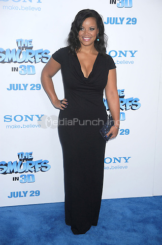 Kimberley Locke at the premiere of 'The Smurfs' at the Ziegfeld Theater on July 24, 2011 in New York City © mpi01 / MediaPunch Inc.
