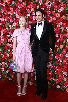 NEW YORK, NY - JUNE 10:  Tavi Gevinson and Zac Posen at the 72nd Annual Tony Awards at Radio City Music Hall in New York City on June 10, 2018.
