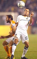 The LA Galaxy defeated the Houston Dynamo 2-0 in OT to win the MLS Western Conference Final at Home Depot Center stadium in Carson, California on Friday November 13, 2009...