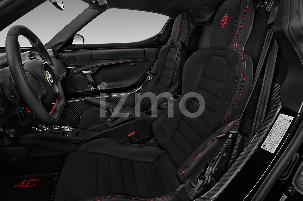 Front seat view of 2018 Alfa Romeo 4C Base 2 Door Coupe front seat car photos