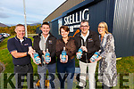 Skellig Six 18 Gin is here and already proving to be a success pictured here at the Distillery in Cahersiveen on Sunday were l-r; Stephen Kelleghan(Gin Production Manager), Patrick Cooney(Founder & Director), June O'Connell(Founder & Director), Pat Sugrue(Founder & Director) & Norma O'Shea(Visitor Centre Manager).