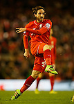 Joe Allen of Liverpool in action - English Premier League - Liverpool vs Manchester City - Anfield Stadium - Liverpool - England - 3rd March 2016 - Picture Simon Bellis/Sportimage