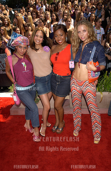 Pop group NOBODY'S ANGEL at the 2001 Teen Choice Awards at Universal Amphitheatre, Hollywood..12AUG2001.   © Paul Smith/Featureflash