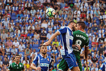 League Santander 2017-2018 - Game: 2<br /> RCD Espanyol vs CD Leganes: 0-1.<br /> David Lopez vs Gabriel Appelt.