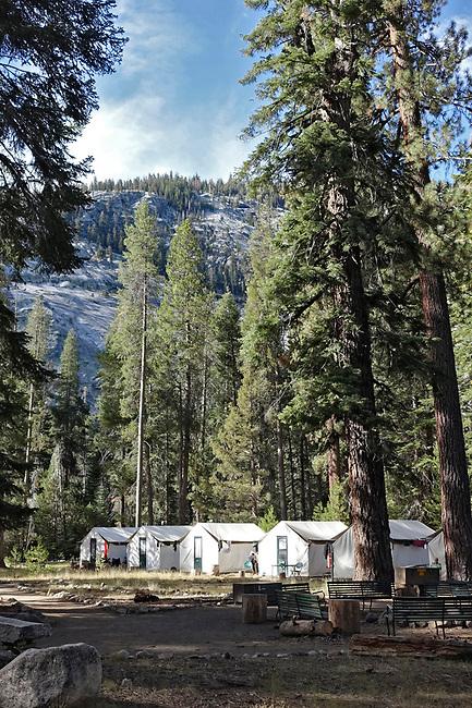 Merced Lake Tents, Yosemite.
