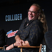 NEW YORK, NY - OCTOBER 7: Greg Nicotero at AMC's The Walking Dead panel at New York Comic Con on October 7, 2017 in New York City.    <br /> CAP/MPI/DC<br /> &copy;DC/MPI/Capital Pictures