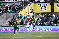 Portland, Oregon - Sunday, April 2, 2017.  Portland Timbers vs. the New England Revolution in a match at Providence Park. Final Score: Portland Timbers 1, New England Revolution 1