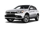 Stock pictures of low aggressive front three quarter view of 2016 Mitsubishi Outlander-Sport 2.4-ES-AWC-CVT 5 Door SUV Low Aggressive