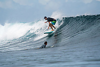 Namotu Island Resort, Nadi, Fiji (Wednesday, May 16th 2018): The swell had improved again over night to around 5' plus. Cloudbreak, Wilkes and Namotu Lefts were all firing with very light winds and a dropping tide. <br /> Swimming Pools had waves early in the afternoon. Photo: joliphotos.com