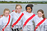 Workmens RC rowers who participated at the Callinafercy regatta on Sunday l-r: Roisin O'Hare-Doherty, Lauren McCarthy, Emma Wade and Chelsea Coffey..