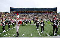 The Ohio State Marching Band performs prior to the NCAA football game at Michigan Stadium in Ann Arbor on Nov. 28, 2015. Ohio State won 42-13. (Adam Cairns / The Columbus Dispatch)