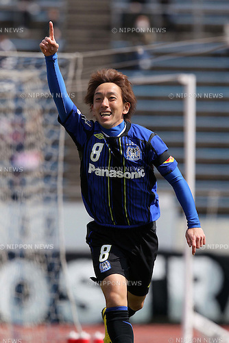 Hayato Sasaki (Gamba), MARCH 27, 2011 - Football : 2011 J.League Charity match for victim of Northeastern Pacific Ocean earthquake between Gamba Osaka 2-2 Vissel Kobe at Expo 70 Stadium, in Osaka, Japan. (Photo by Akihiro Sugimoto/AFLO SPORT) [1080]