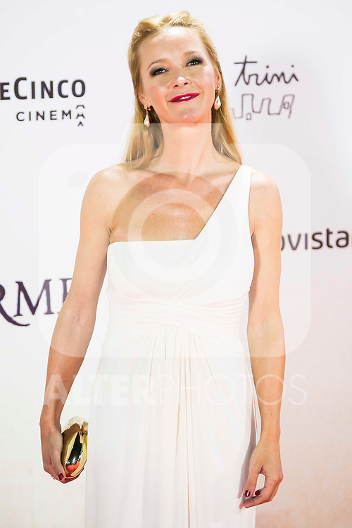 "Maria Esteve during the premiere of the spanish film ""Un Monstruo Viene a Verme"" of J.A. Bayona at Teatro Real in Madrid. September 26, 2016. (ALTERPHOTOS/Borja B.Hojas)"