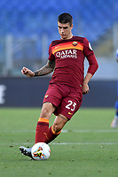 Gianluca Mancini of Roma<br /> during the Serie A football match between AS Roma and ACF Fiorentina at stadio Olimpico in Roma (Italy), July 26th, 2020. Play resumes behind closed doors following the outbreak of the coronavirus disease. <br /> Photo Antonietta Baldassarre / Insidefoto