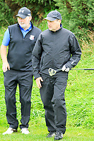Paul Byrne and Maurice Hickey (Limerick) during the final round of the All Ireland Four Ball Interclub Final, Roe Park resort, Limavady, Derry, Northern Ireland. 15/09/2019.<br /> Picture Fran Caffrey / Golffile.ie<br /> <br /> All photo usage must carry mandatory copyright credit (© Golffile | Fran Caffrey)