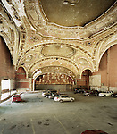 Michigan Theatre, built in 1926 and functioned as a performance space untill 1976 when it was converted into a parking lot, Detroit, Michigan, March 20, 2008